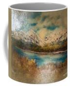 Early Winter Mountain Range Coffee Mug
