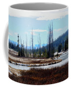 Early Winter On The Yellowstone Coffee Mug