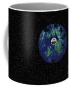 Earth To The Moon Coffee Mug