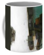 Earth Pattern Coffee Mug