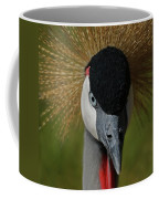 East African Crowned Crane Upclose Coffee Mug