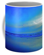 East Coast Florida Daytona Beach Morning Walkers   Coffee Mug