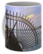 East River View Through The Spokes Coffee Mug