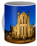 East Side Of Hexham Abbey At Night Coffee Mug
