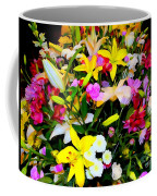 Easter Flowers Coffee Mug