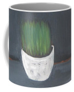 Easter Grass In A Pot Coffee Mug