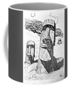 Easter Island Coffee Mug