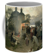Easter Matins Coffee Mug by Nikolai Pimonenko