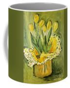 Easter Tulips Coffee Mug by Maria Langgle