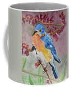 Eastern Bluebird Vertical  Coffee Mug