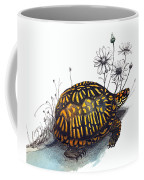 Eastern Box Turtle Coffee Mug by Katherine Miller