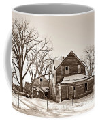 Eastern Montana Farmhouse Sepia Coffee Mug