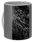 Eastern Redbud In Black And White Coffee Mug