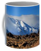 Eastern Sierras At Alabama Hills Coffee Mug