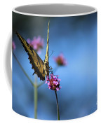 Eastern Tiger Swallowtail And Blue Sky Coffee Mug