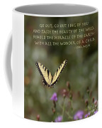 Eastern Tiger Swallowtail Butterfly - The Beauty Of The Wild Coffee Mug