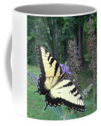 Eastern Tiger Swallowtail Sipping Nectar Coffee Mug