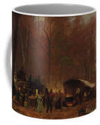 Eastman Johnson - A Different Sugaring Off Coffee Mug