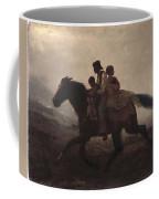 Eastman Johnson - A Ride For Liberty--the Fugitive Slaves 1862 Coffee Mug