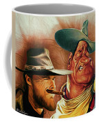 Eastwood And Wayne Coffee Mug