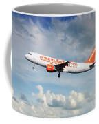 Easyjet Airbus A321-214 G-eztk Coffee Mug