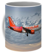 Easyjet Tartan Livery Airbus A319-111 Coffee Mug