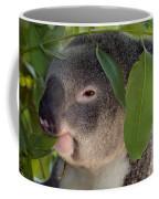 Eat Your Greens Coffee Mug by Mike  Dawson