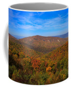 Eaton Hollow Overlook On Skyline Drive In Shenandoah National Park Coffee Mug