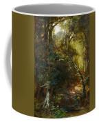 Ebert, Carl 1821 Stuttgart - 1885   Inside A Forest. Coffee Mug