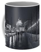 Ebertstrasse And The Brandenburg Gate Coffee Mug