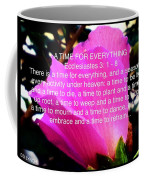 Ecclesiastes 3 A Time For Everything Coffee Mug