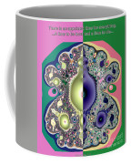 Ecclesiastes 3 A Time To Be Born And A Time To Die Fractal Coffee Mug