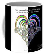 Ecclesiastes 3 A Time To Love And A Time To Hate Fractal Coffee Mug
