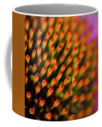 Echinacea Coneflower Abstract Coffee Mug