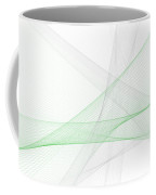 Eco Tec Computer Graphic Line Pattern Coffee Mug