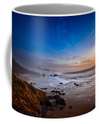 Ecola State Park At Sunset Coffee Mug