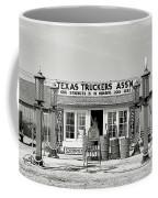 Edcouch Texas Gas Station 1939 Coffee Mug