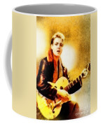 Eddie Cochran, Music Legend By John Springfield Coffee Mug