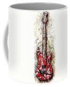 Eddie's Guitar Vert 1a Coffee Mug