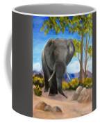 Eddy Elephant Coffee Mug