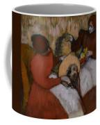 Edgar Degas - The Milliners - 1898 Coffee Mug
