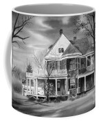 Edgar Home Bw Coffee Mug by Kip DeVore
