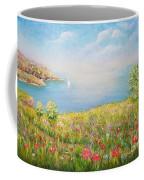 Edge Of The Cliffs By The Sea Coffee Mug
