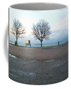 Edinburgh - Two Trees At Caption Hill Coffee Mug