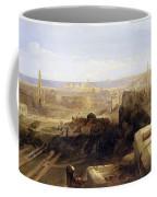 Edinburgh From The Castle Coffee Mug