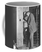 Edison Fluoroscope, 1896 Coffee Mug by Science Source