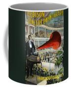 Edison Phonograph Ad, 1899 Coffee Mug by Granger