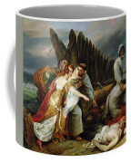 Edith Finding The Body Of Harold Horace Vernet Coffee Mug