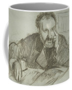 Edmond Duranty Coffee Mug by Edgar Degas