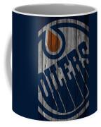 Edmonton Oilers Wood Fence Coffee Mug